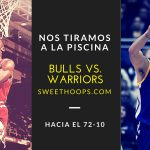 A la piscina: Comparamos a los Bulls del 72-10 con los Warriors de Stephen Curry