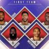 Estos son los mejores quintetos NBA 2016-2017: Pero lo importante es que faltan Hayward y Paul George