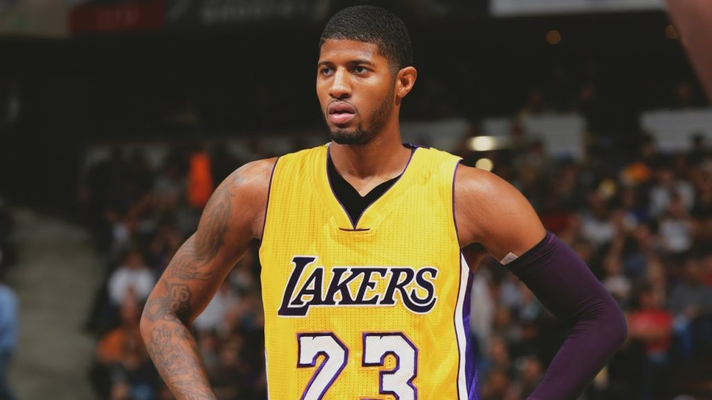 Paul George fichaje de los Lakers