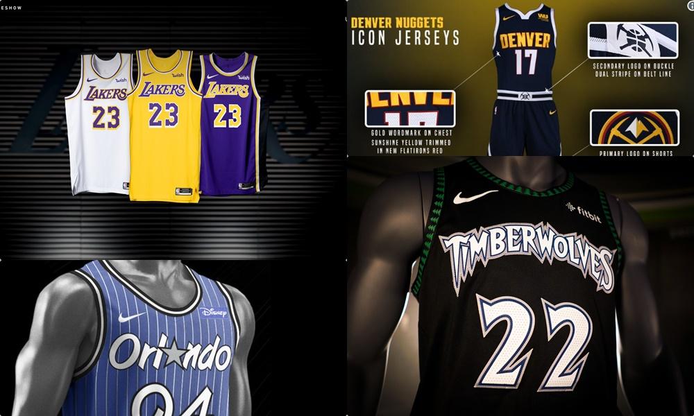 28d26696362 Todas las nuevas camisetas NBA de la temporada 2018-2019